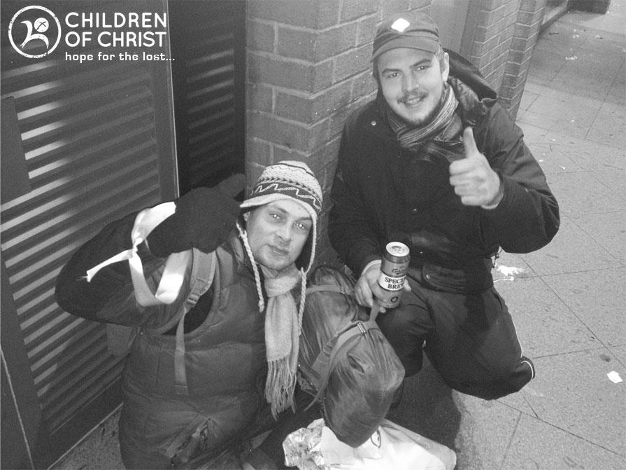 Helping homeless is London