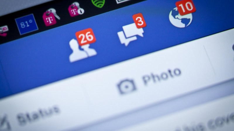 Facebook, organic social media engagement, notifications, comments, friend requests
