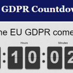 countdown to GDPR